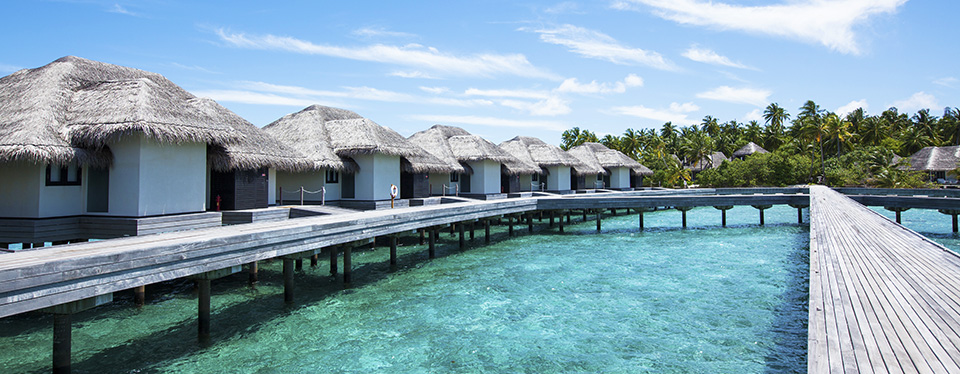 <h2>Romantic Retreat in the Maldives</h2><p>7 Night Maldives Vacation<p><p class=price>From <strong>$3390</strong></p>