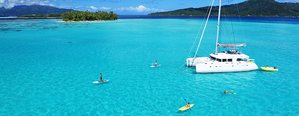 <h2>Private Cruise Through Tahiti</h2><p>10 Nights with Stays in Huahine and Bora Bora!<p><p class=price>From <strong>$6850</strong></p>