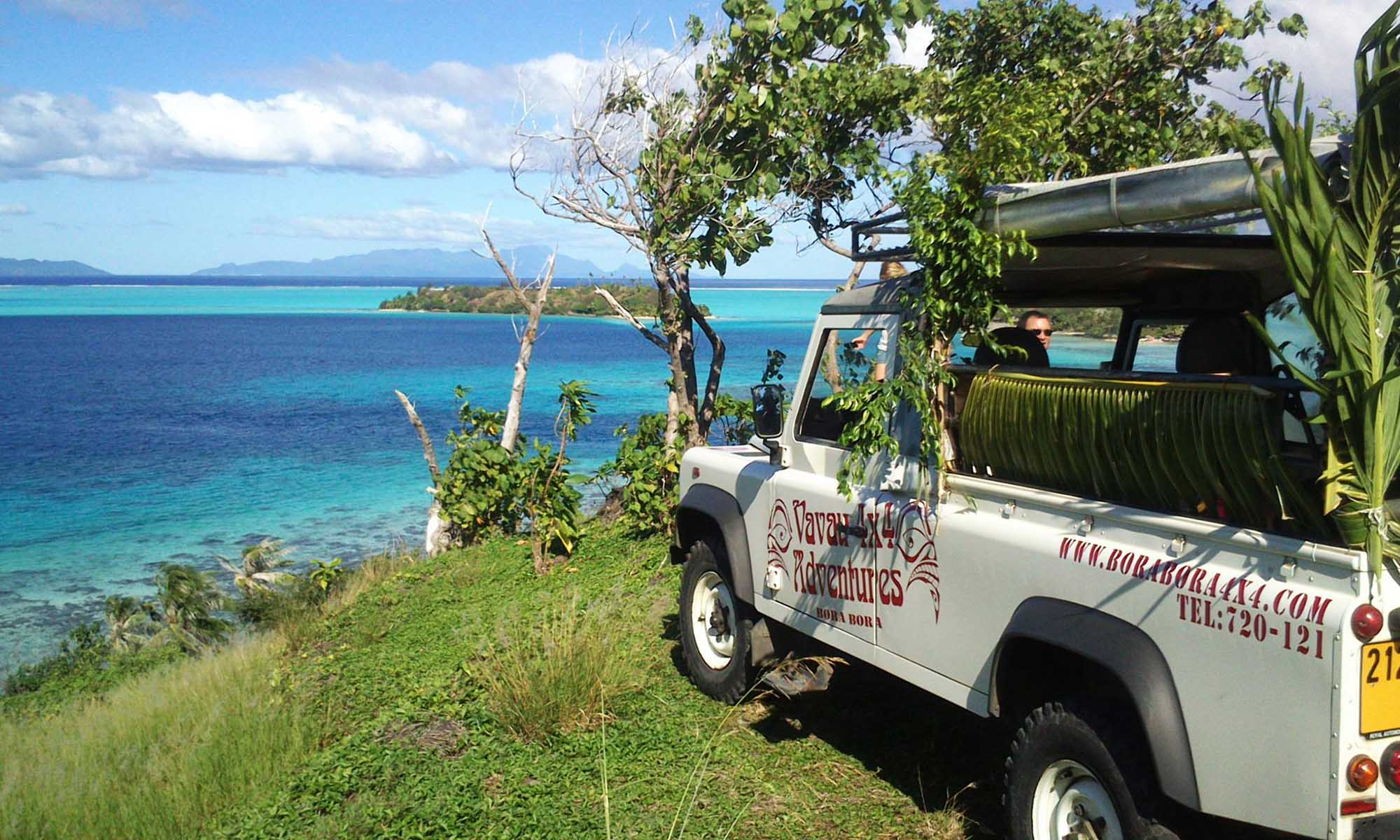 4x4 Jeep Safari by Vavau Tours