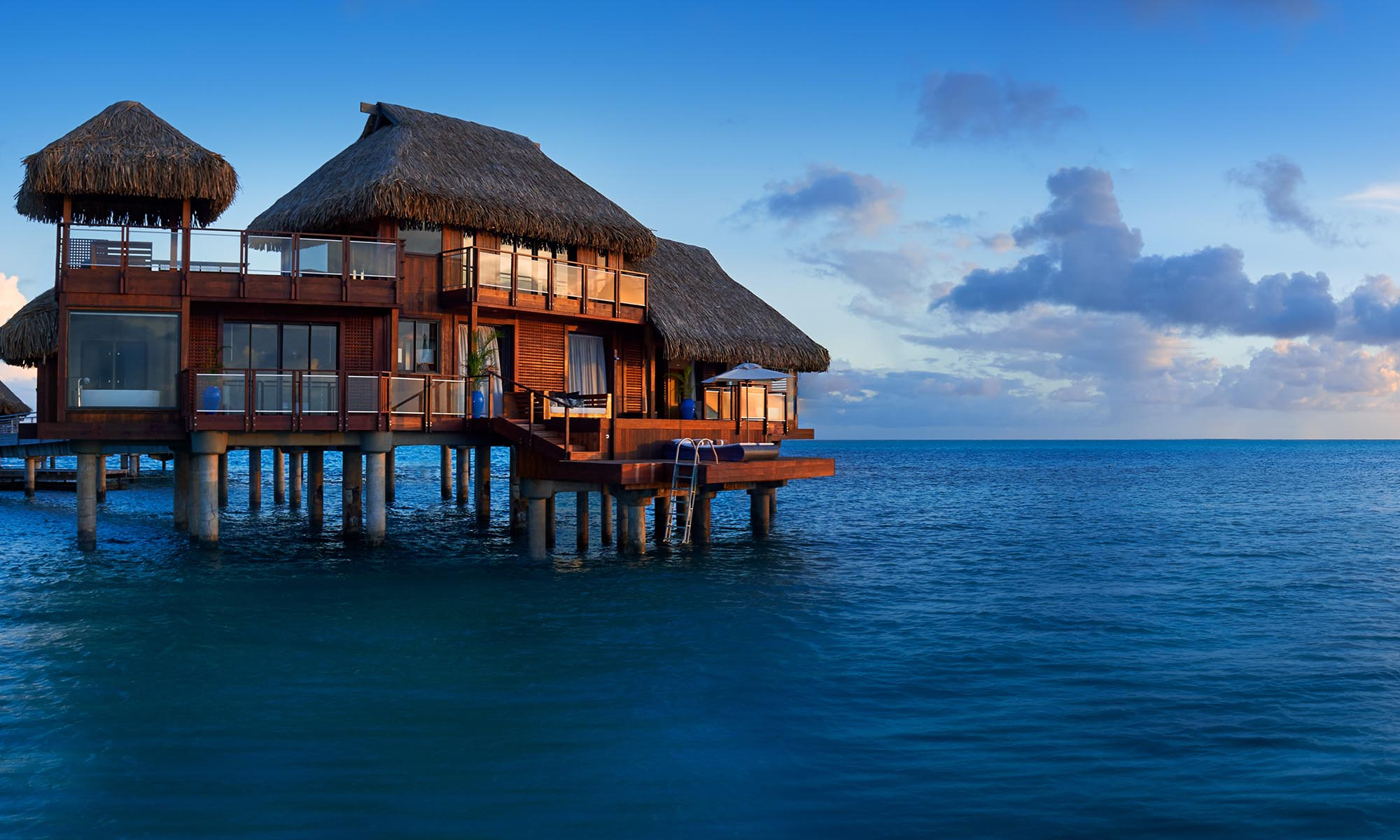 Presidential Overwater Villa at the Conrad Bora Bora Nui