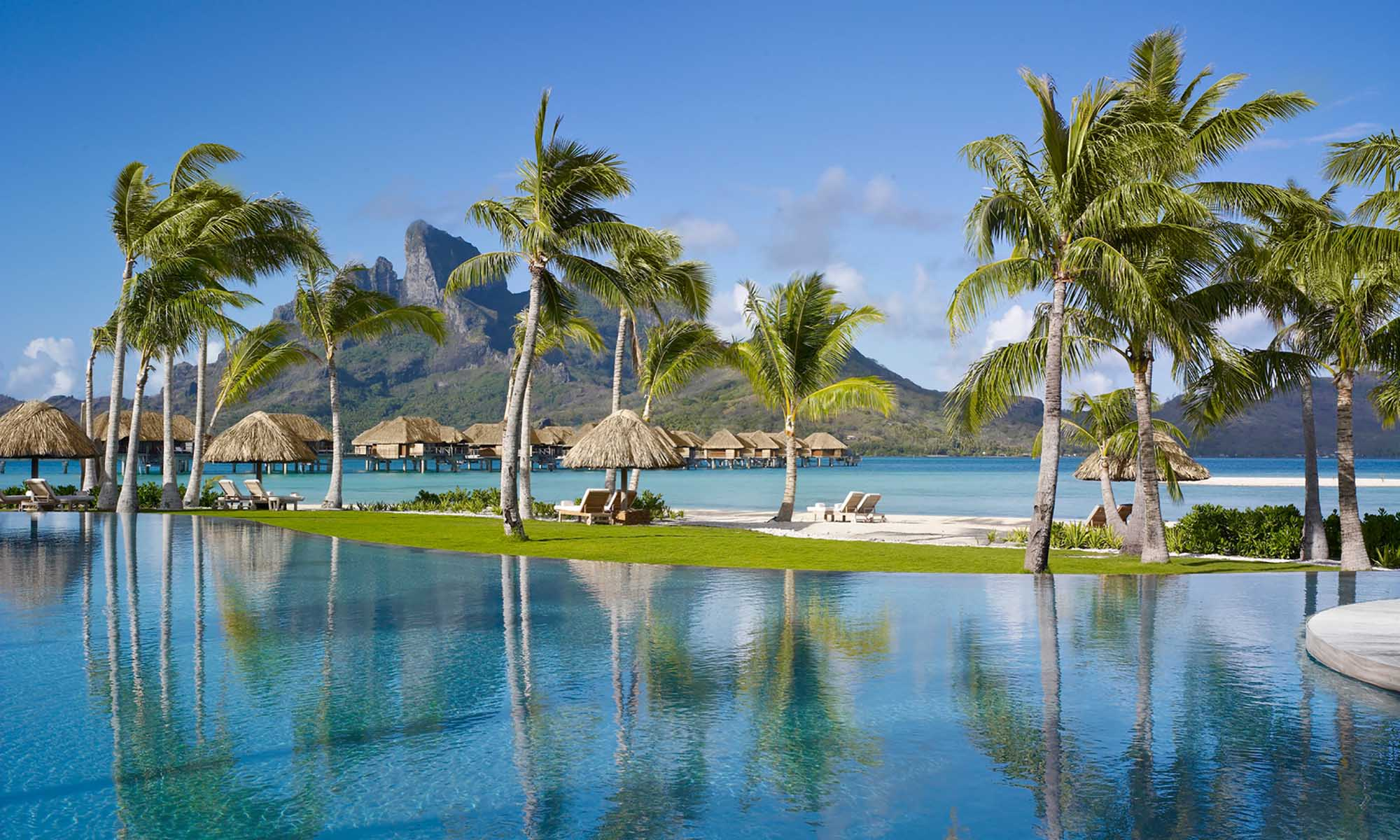 Pool at Four Seasons Resort Bora Bora