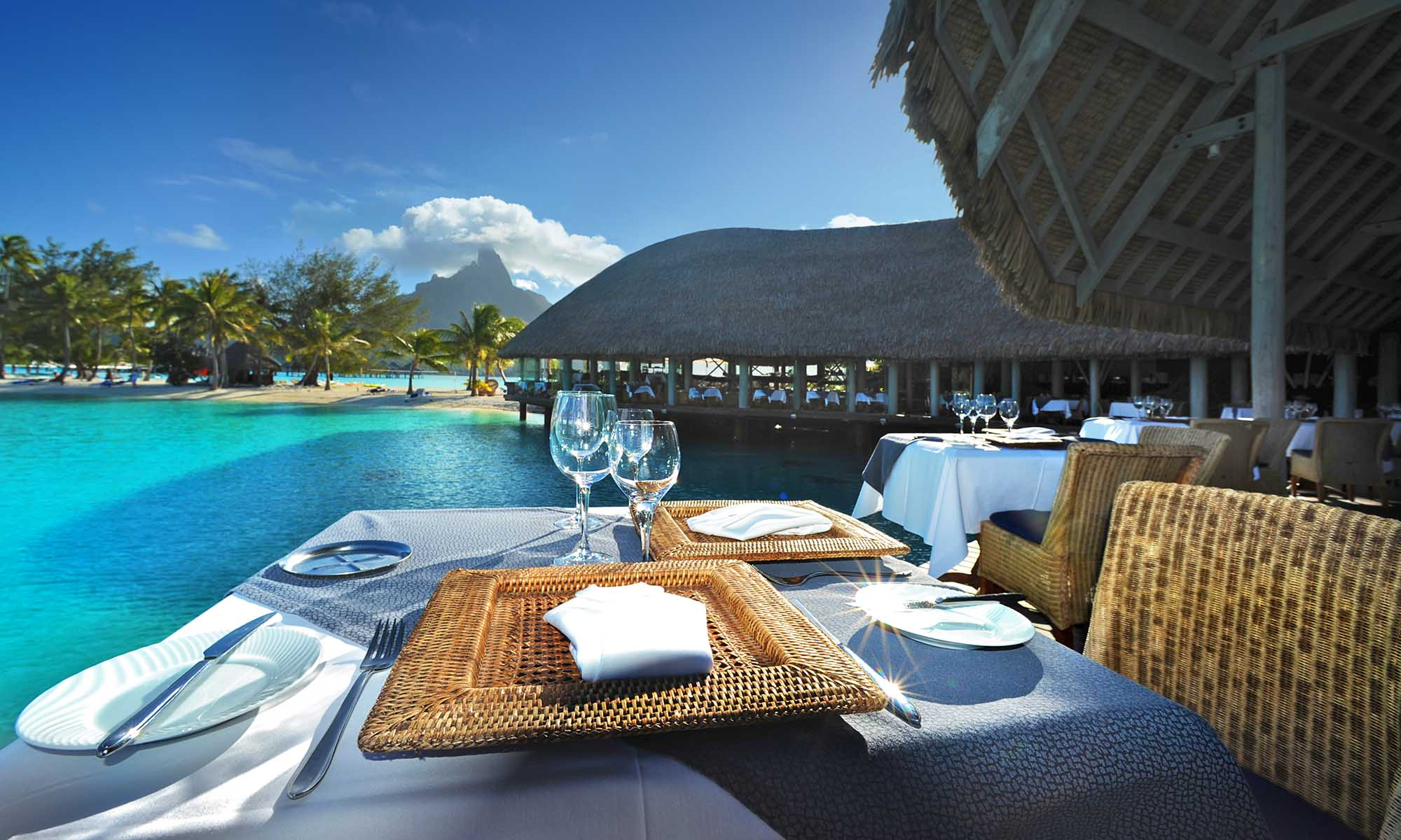 Dine with a View of Le Meridien Bora Bora's Lagoonarium