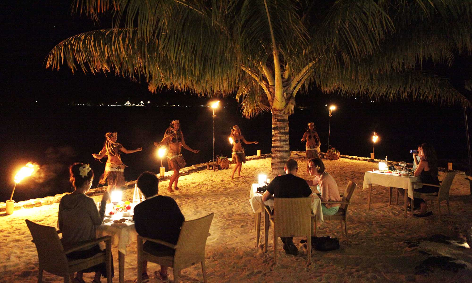 Romantic Dinner, Sofitel Bora Bora Private Island