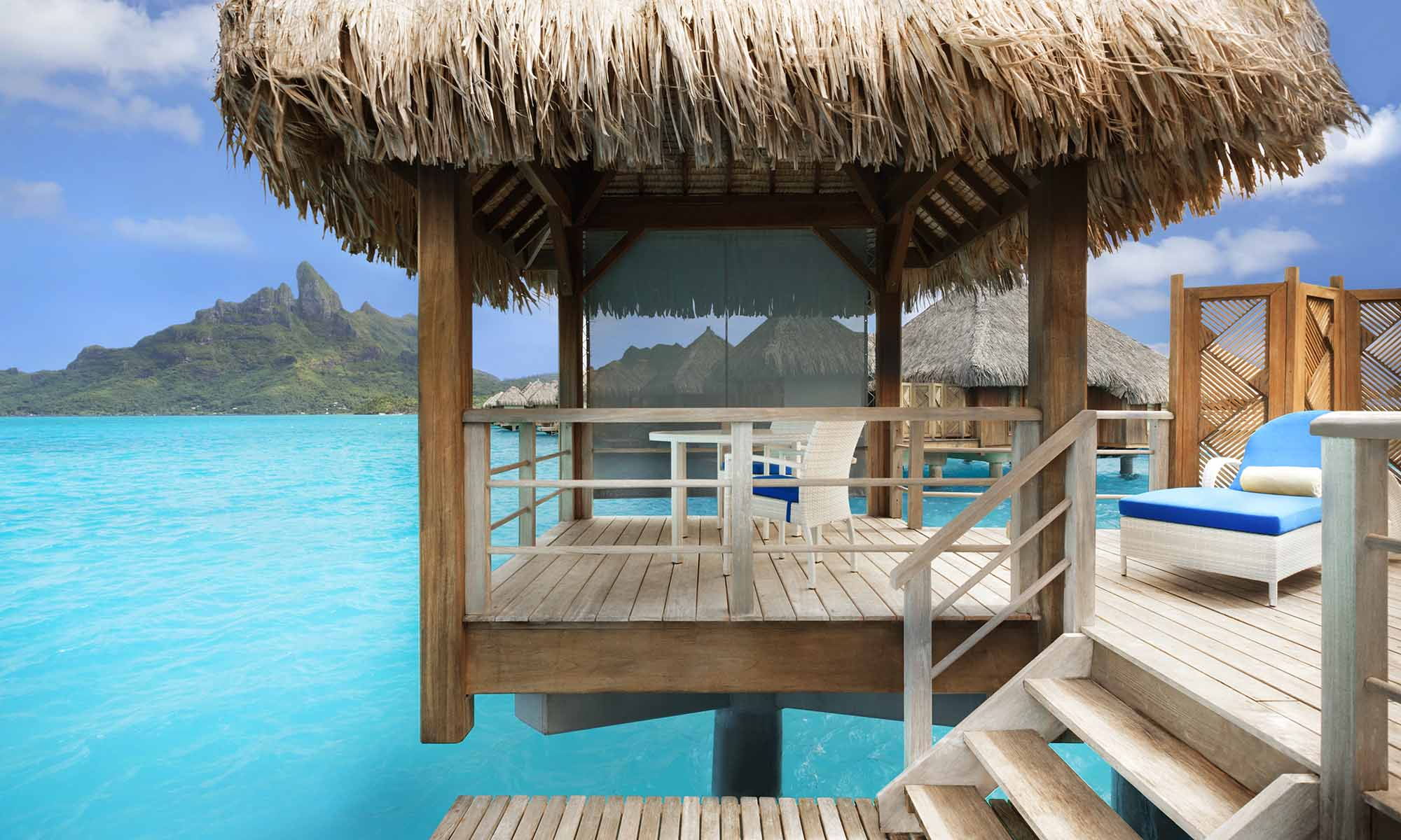 Overwater Villa at the St Regis Bora Bora