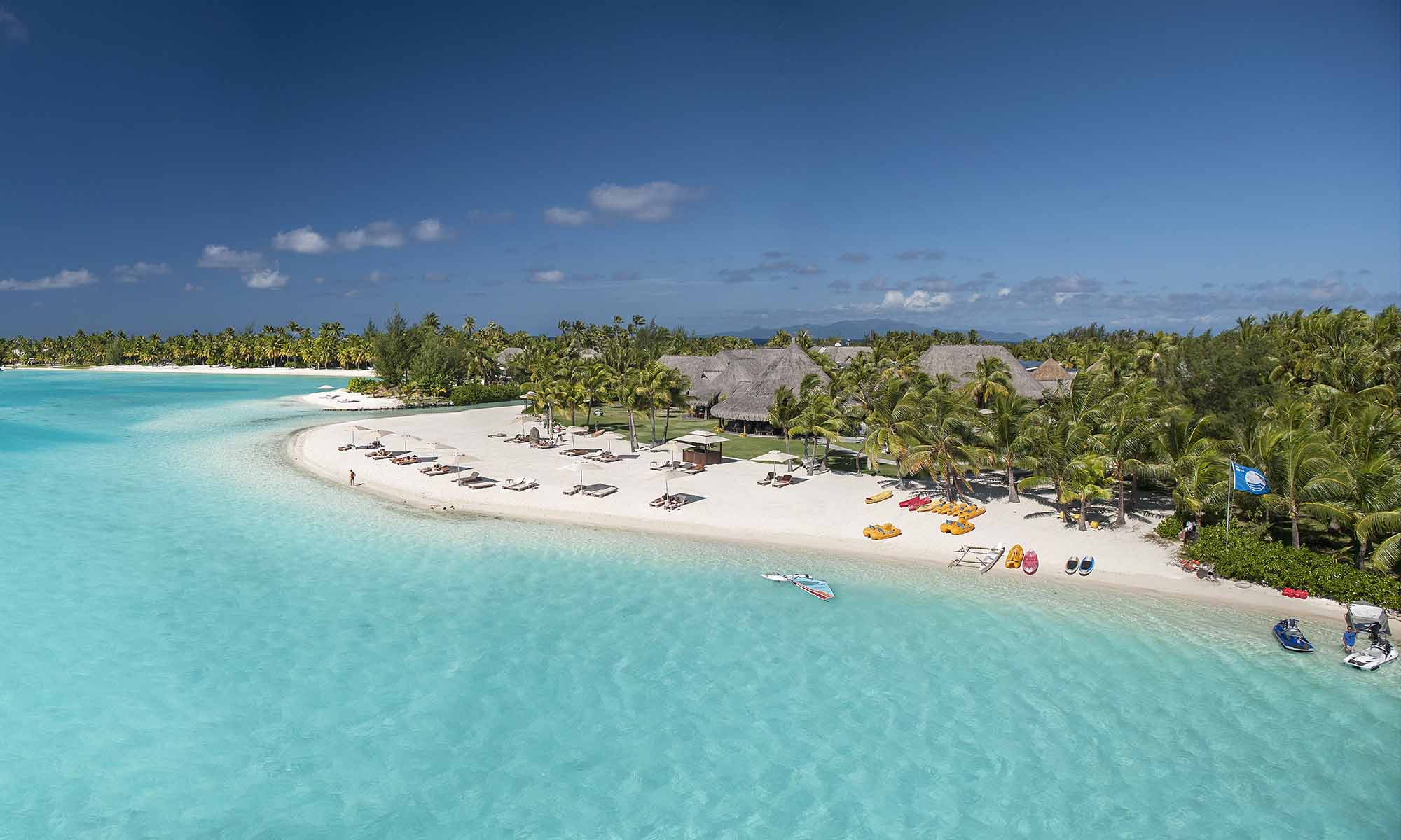 St Regis Bora Bora's Private Beach