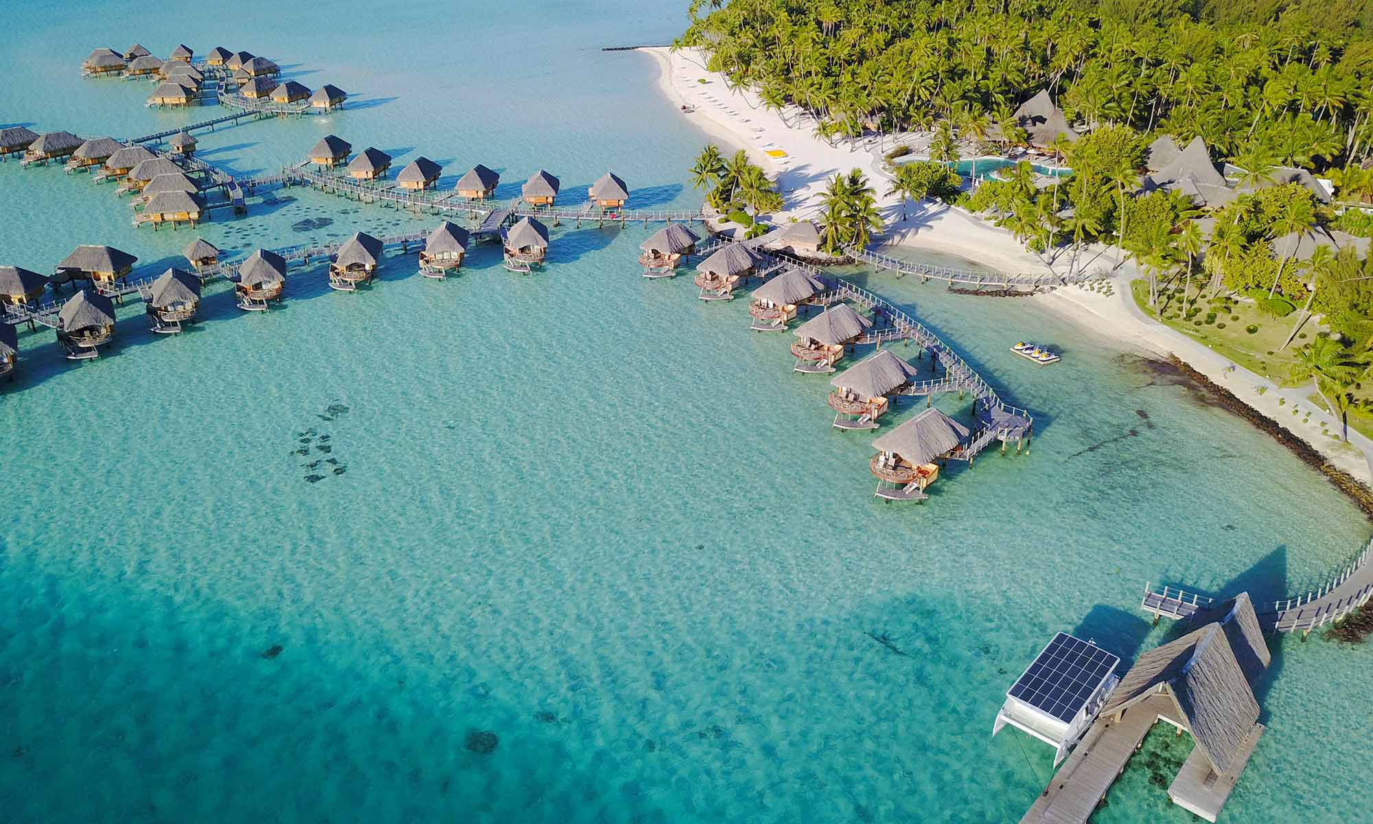 Bora Bora Pearl Beach Resort & Spa, Aerial