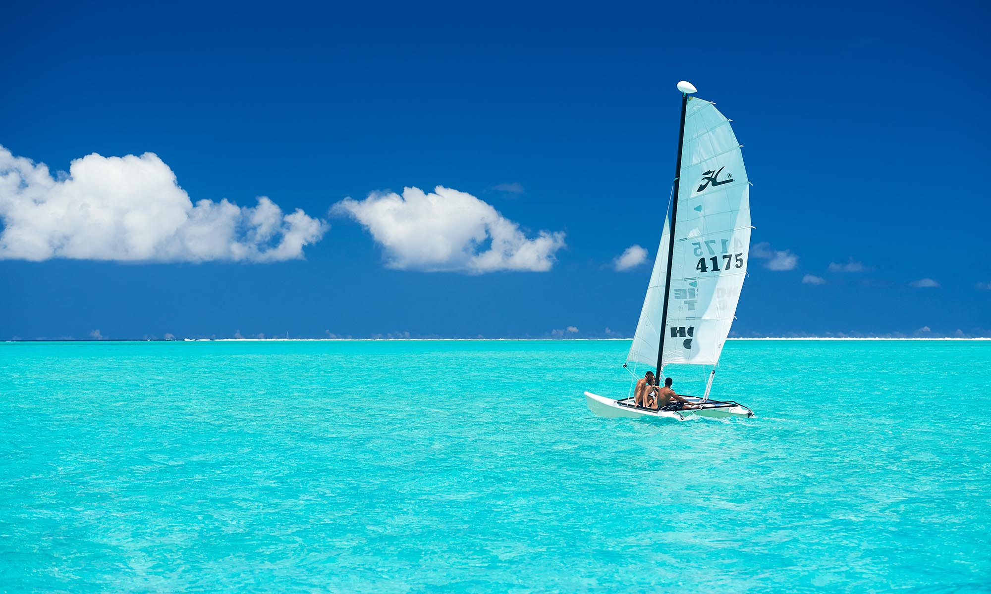 Complimentary Hobie Cat Sailing at the Conrad Bora Bora Nui