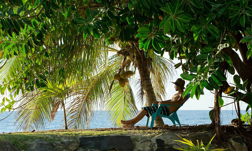 Relax into island time on Huahine