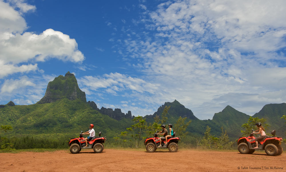 Explore Moorea by ATV