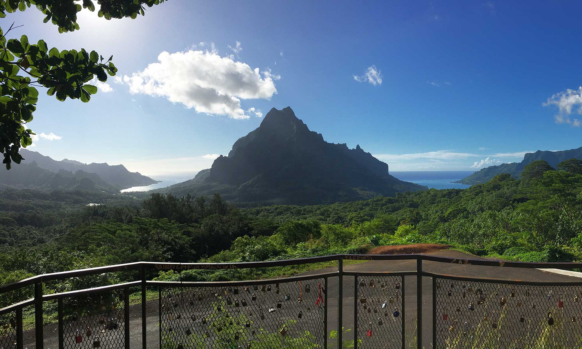 Belvedere Point, Moorea