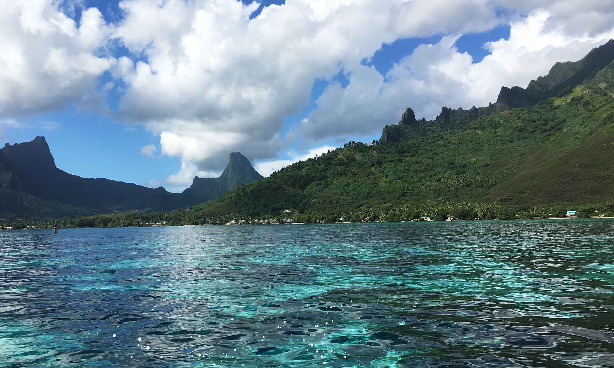 The Dramatic Moorea Landscapes