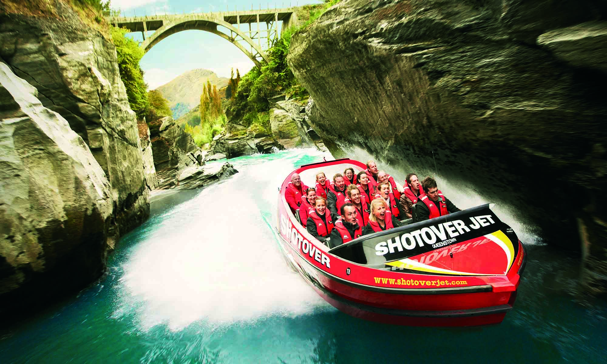 Jet Boating in Queenstown, New Zealand