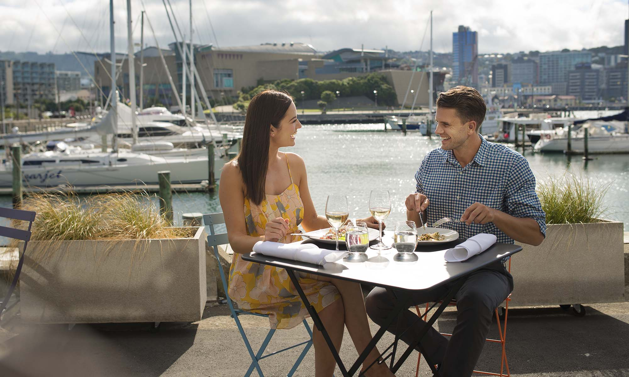 Dining in Wellington, New Zealand