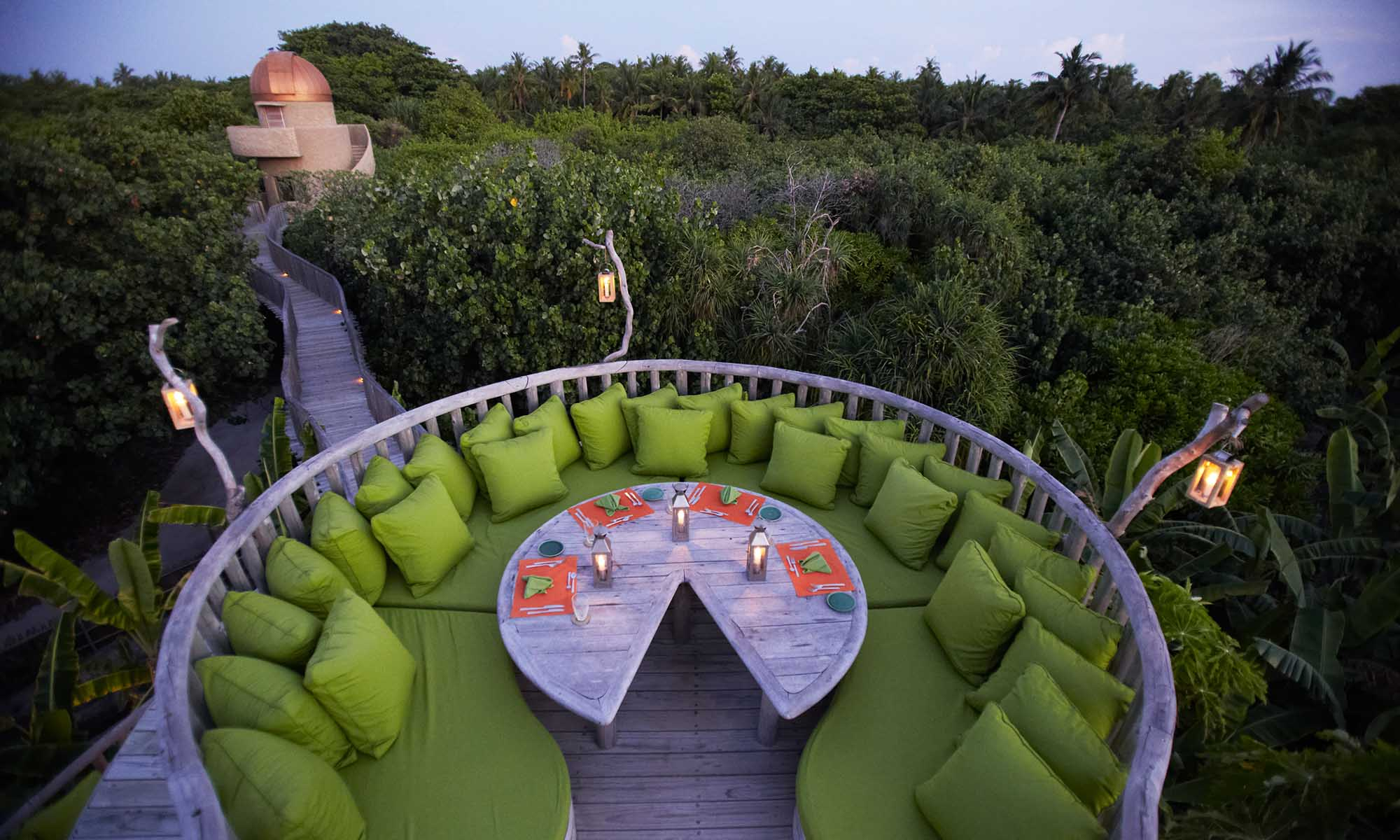 So Fresh, Treetop Dining at Soneva Fushi