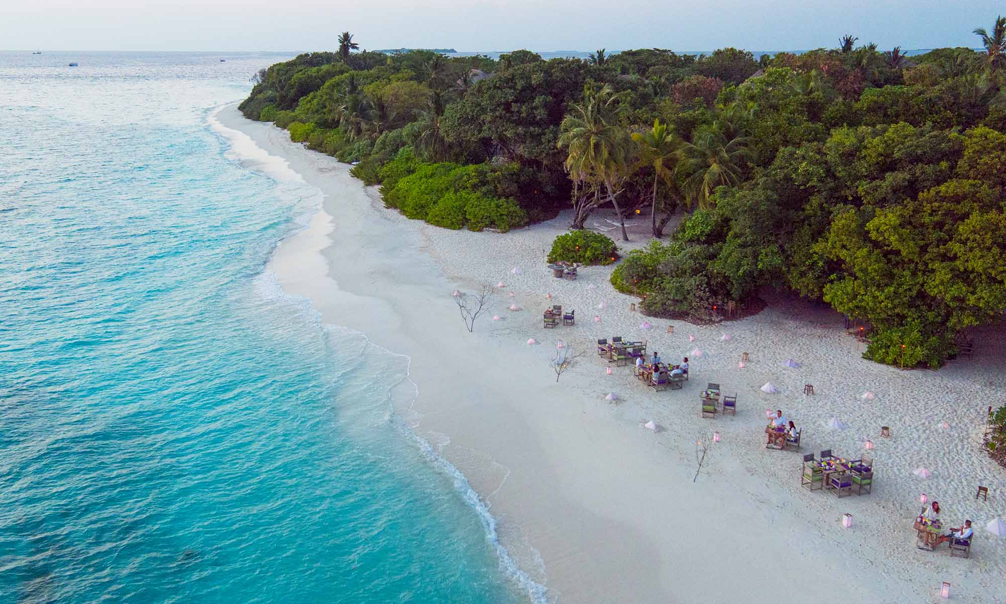 By the Beach, Casual Beach Dining at Soneva Fushi