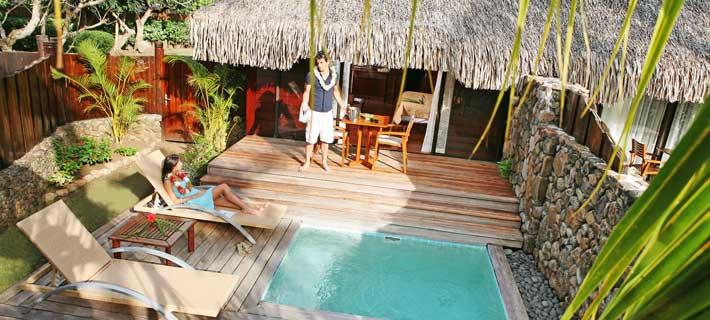 Manava beach resort and spa moorea tahiti legends for Garden pool bungalow moorea pearl resort