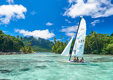 Explore the lagoon at Conrad Bora Bora Nui