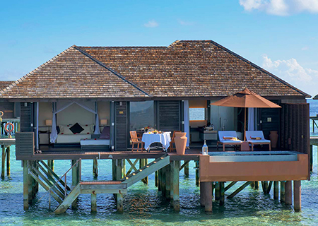 Lily Beach Resort & Spa, Deluxe Water Villa
