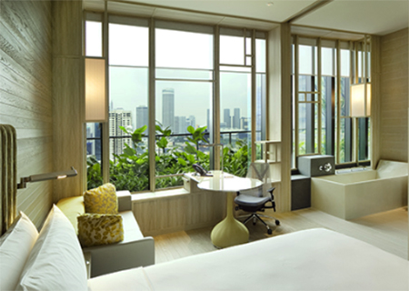 Deluxe Room, Park Royal on Pickering Singapore