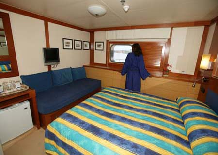 Blue Lagoon Cruises, Cabin Interior