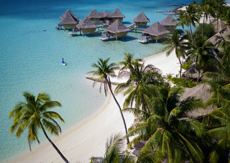 InterContinental Bora Bora Le Moana, Beach