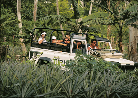 Bora Bora, 4x4 Jeep Safari