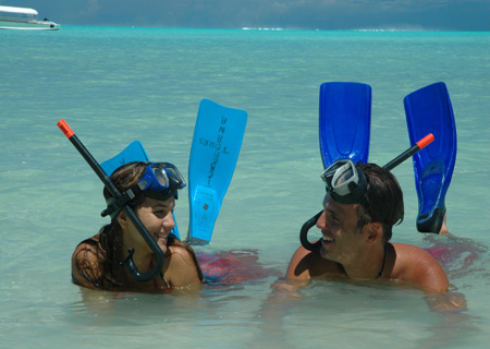 Bora Bora, Snorkel in the Lagoon