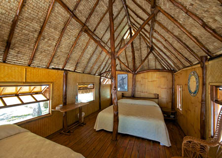 Kia Ora Sauvage, Bungalow Interior