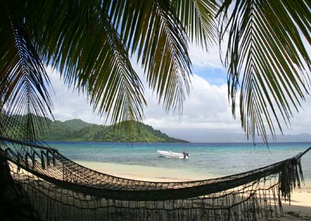 Matangi Private Island Resort, Fiji, Hammock