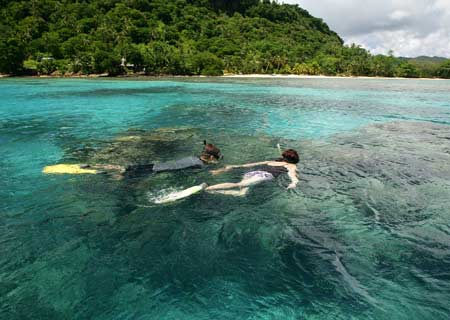 Matangi Private Island Resort, Fiji, Snorkeling