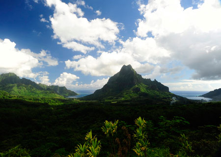 Moorea, The Belvedere
