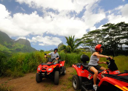 Moorea, ATV Adventure