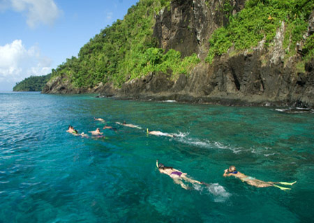 Qamea Resort & Spa Fiji, Guided Snorkeling Tour
