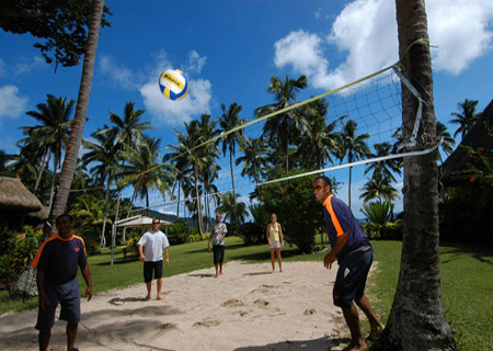Qamea Resort & Spa Fiji, Beach Volleyball