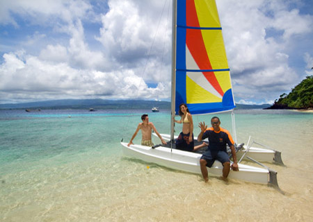 Qamea Resort & Spa Fiji, Explore by Hobie Cat
