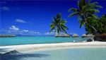 Entirely renovated in 2006 the InterContinental Bora Bora Le Moana Resort snuggles in between two long beaches, in the shade of a splendid coconut plantation.